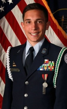 Air Force junior ROTC cadet Cole Cutner, invited to participate in Four Star Leadership in Hobart, Okla. July 2016  Photo courtesy of Col. Glen Whicker, St. George News
