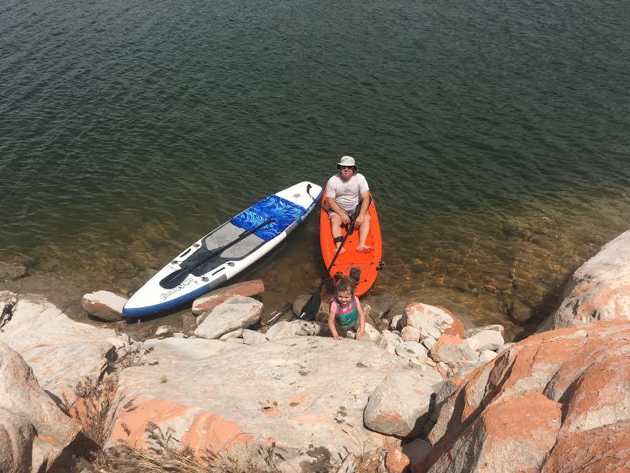 Gunlock Reservoir offers fun areas to paddle, Gunlock, Utah, June 11, 2016 | Photo by Hollie Reina, St. George News