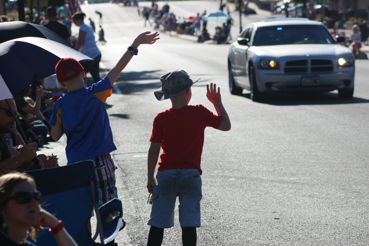 At the 2016 Days of '47 Pioneer Day Parade in Washington City, Utah, July 23, 2016 | Photo by Mori Kessler, St. George News