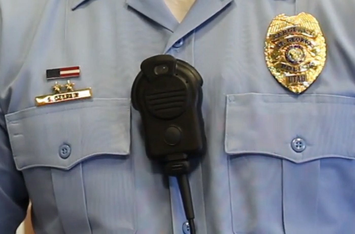 One of the body cameras tested by the St. George Police Department in 2015, St. George, Utah, May 16, 2015 | Photo by Mori Kessler, St. George News