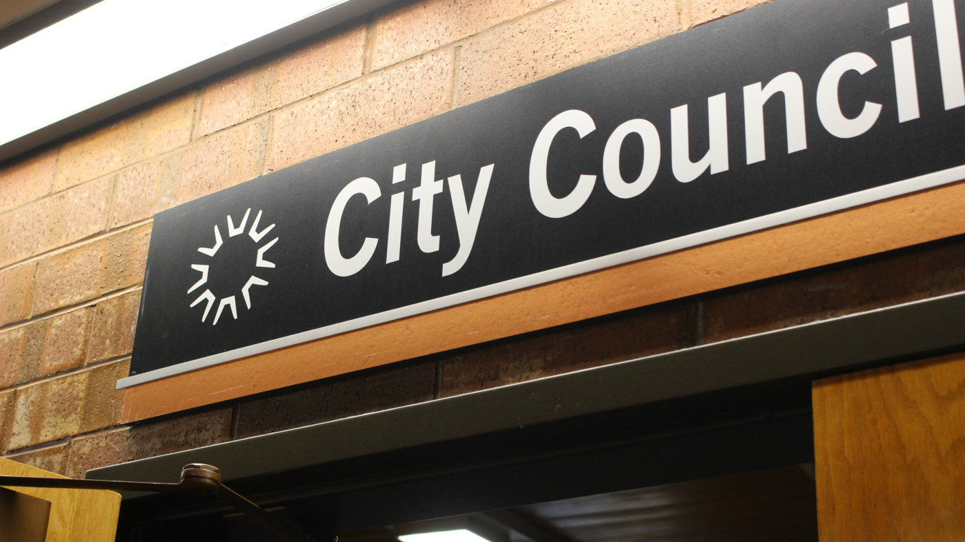 The new logo of the City of St. George is already in use at the St. George City Offices. The new logo was rolled out July 7, 2016, and is anticipated to be phased in citywide over the next two years, St. George, Utah, July 7, 2016 | Photo by Mori Kessler, St. George News