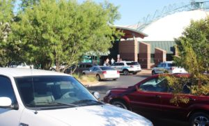 The pool remained open while investigators respond after alleged sexual assault was reported at Sand Hollow Aquatic Center after an allegedl sexual assault Thursday evening, St. George, Utah, July 14, 2016 | Photo by Cody Blowers, St. George News