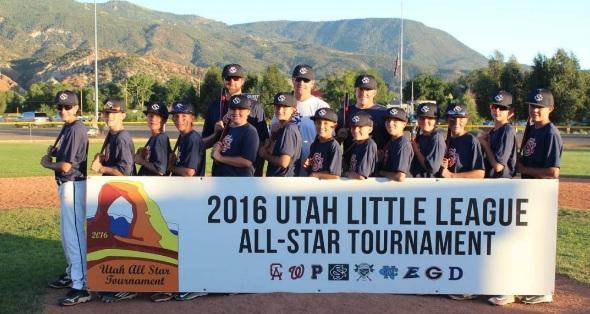 Snow Canyon's 12U baseball team is headed to the Western Regional as well | Photo courtesy Lisa Thorpe