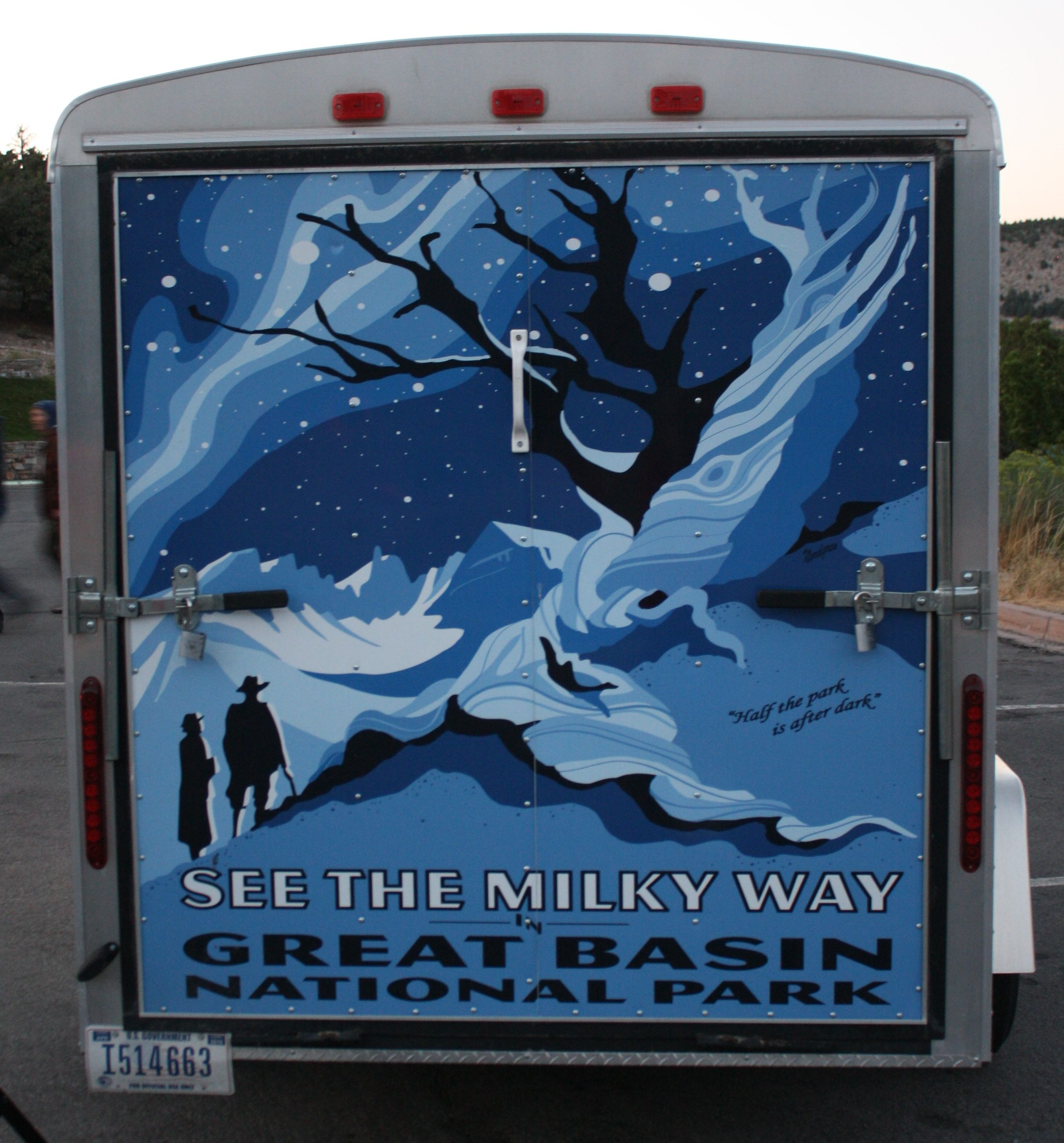 astronomy trailer, Great Basin National Park, StGeorgeNews.com