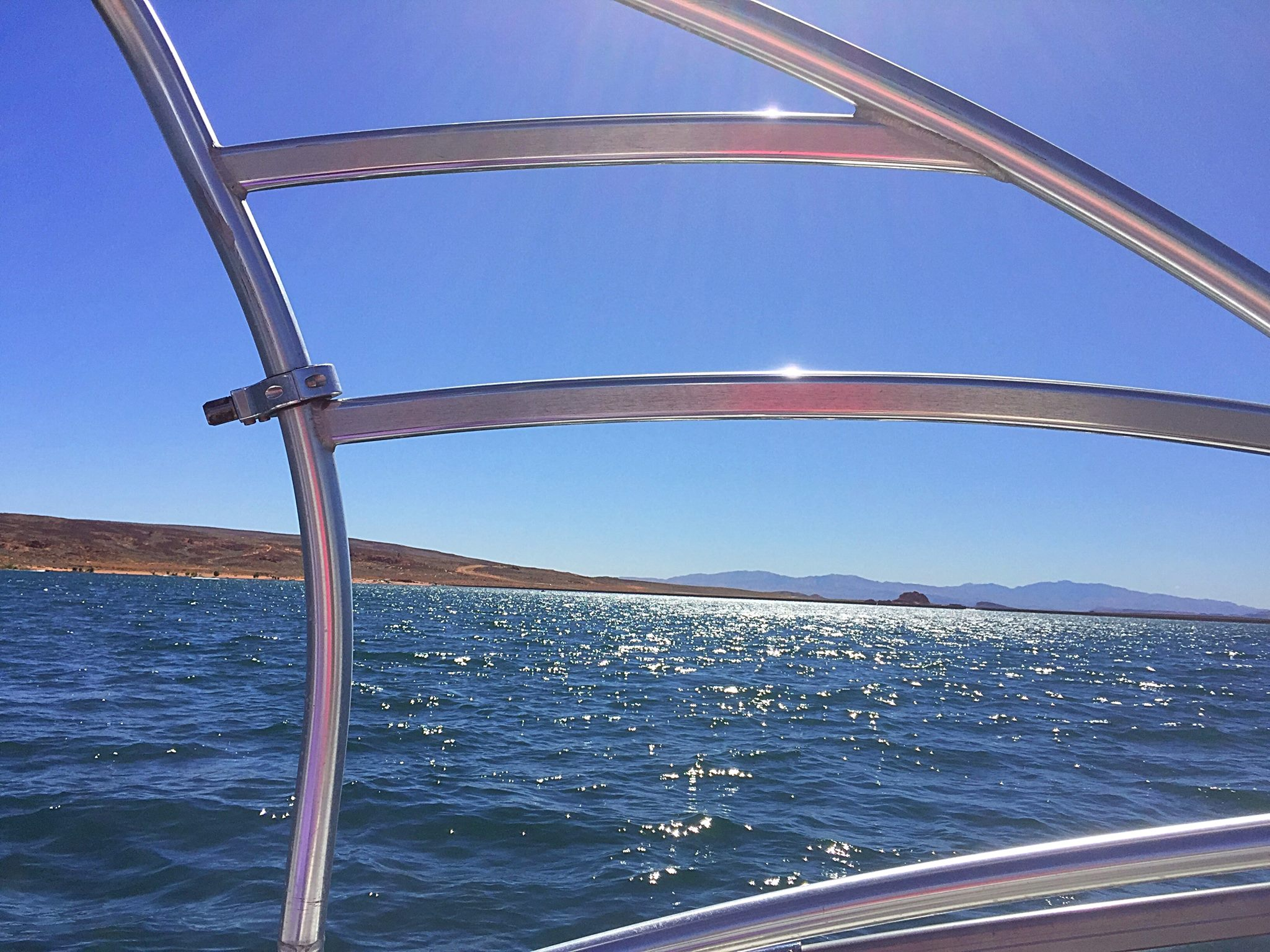 In an effort to reduce the number of people killed or injured in alcohol- or drug-related boating collisions, officials will be conducting OUI and boating safety checkpoints, stock image photo taken at Sand Hollow State Park, Utah, July 10, 2016 | Photo by Kimberly Scott, St. George News