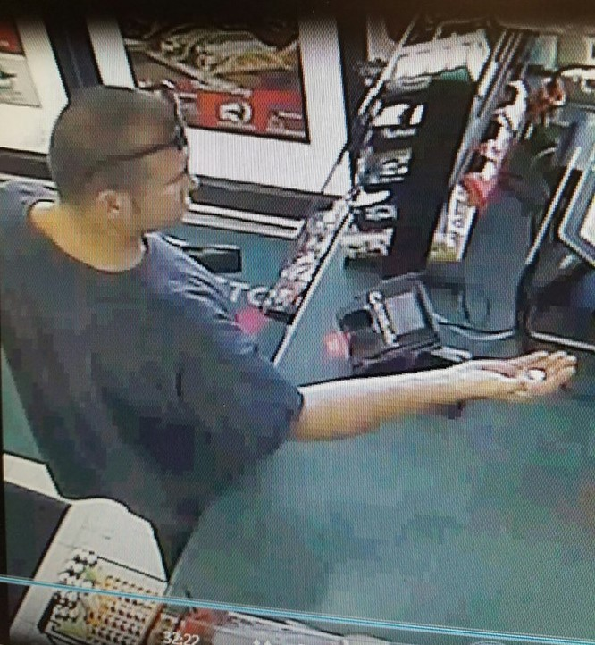 St. George Police released this photo showing a suspect wanted for questioning in a counterfeit bill investigation, St. George, Utah, Aug. 30, 2016 | Photo courtesy of the St. George Police Department, St. George News