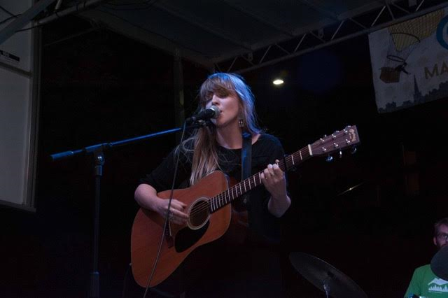 Courtney Marie Andrews plays the main stage at George Streetfest, St. George, Utah, September, 2015 | Photo by Nick Adams courtesy of Emceesquare Media Inc., St. George News