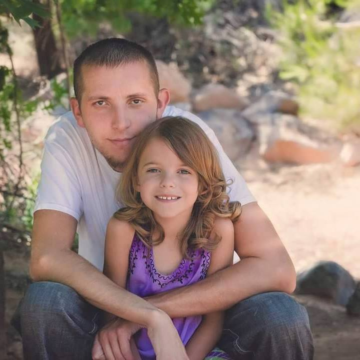 A photo of 30-year-old David Heisler and his 6-year-old daughter, photo date and location unspecified | Photo courtesy of David Heisler's Facebook page, St. George News