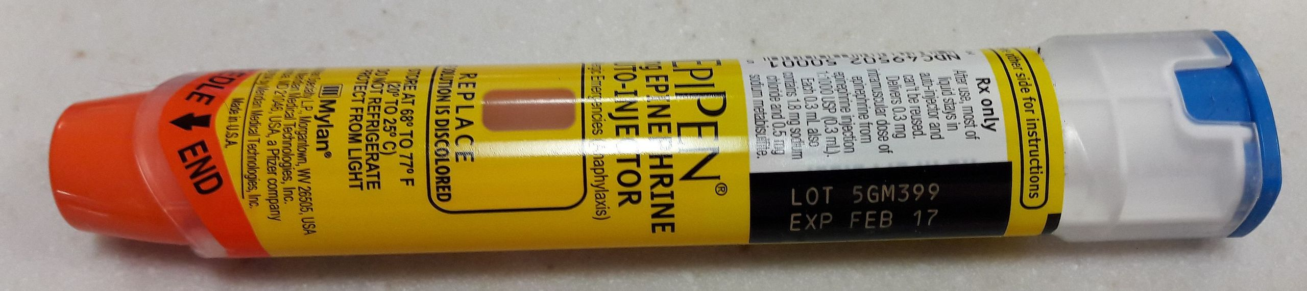 EpiPen 2016   Photo by Tokyogirl79 via Wikimedia's Creative Commons; St. George News