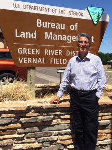 Gary Torres, new District Manager for the Green River District, Vernal Utah, date not given | Photo courtesy of BLM, St. George News