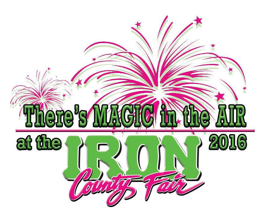 Iron County Fair theme and flyer, location and date not specified | Logo courtesy of Iron County Fair