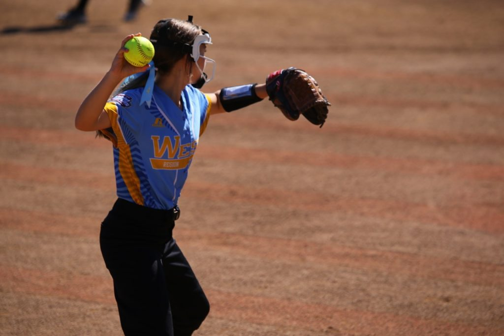 Sydney McCaul, Little League Softball World Series, Portland, Ore., Aug. 15, 2016. | Photo by Scott Miller, special to St. George News