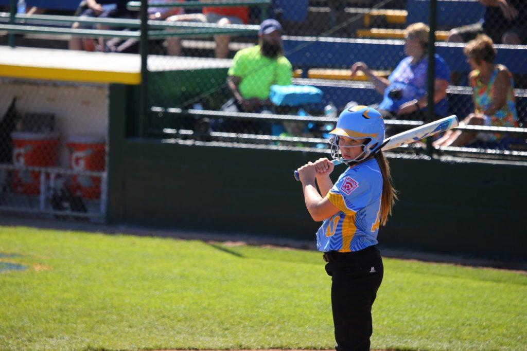 Erin Gunn, Little League Softball World Series, Portland, Ore., Aug. 15, 2016. | Photo by Scott Miller, special to St. George News