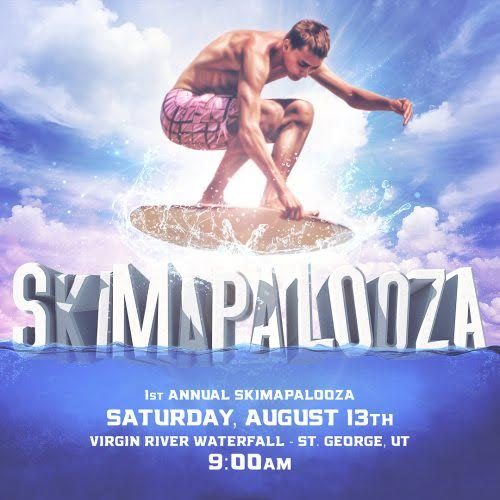 Skimapalooza event flyer, location and date not specified | Flyer courtesy of Mike Gardner, St. George News