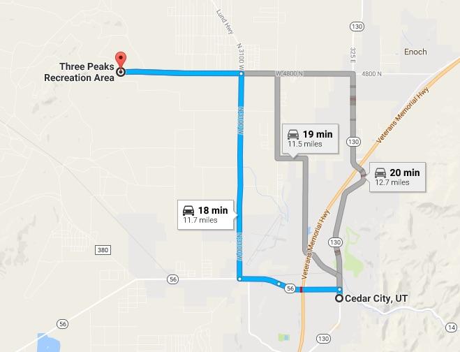 Image courtesy of Google Maps, St. George News