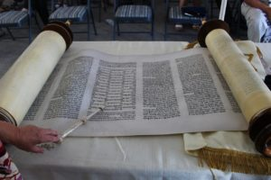 Torah scroll presented during dedication ceremony Saturday, St. George, Utah, Aug. 6, 2016 | Photo by Cody Blowers, St. George News