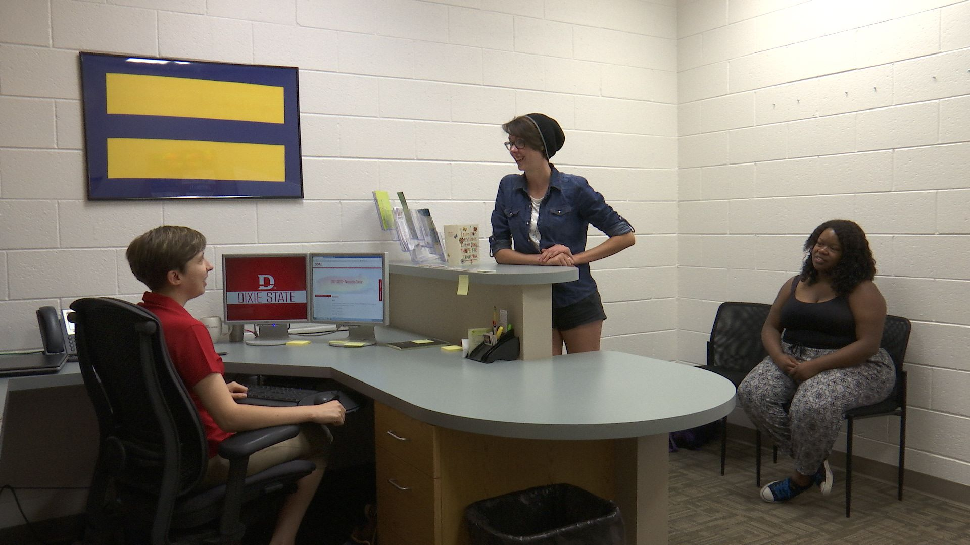 As a way to help provide a safe and inclusive environment for LGBT students, staff and faculty, Dixie State University established the LGBT+ Resource Center as a part of its Multicultural Inclusion Center, St. George, Utah, Aug. 26, 2016 | Photo by Sheldon Demke, St. George News