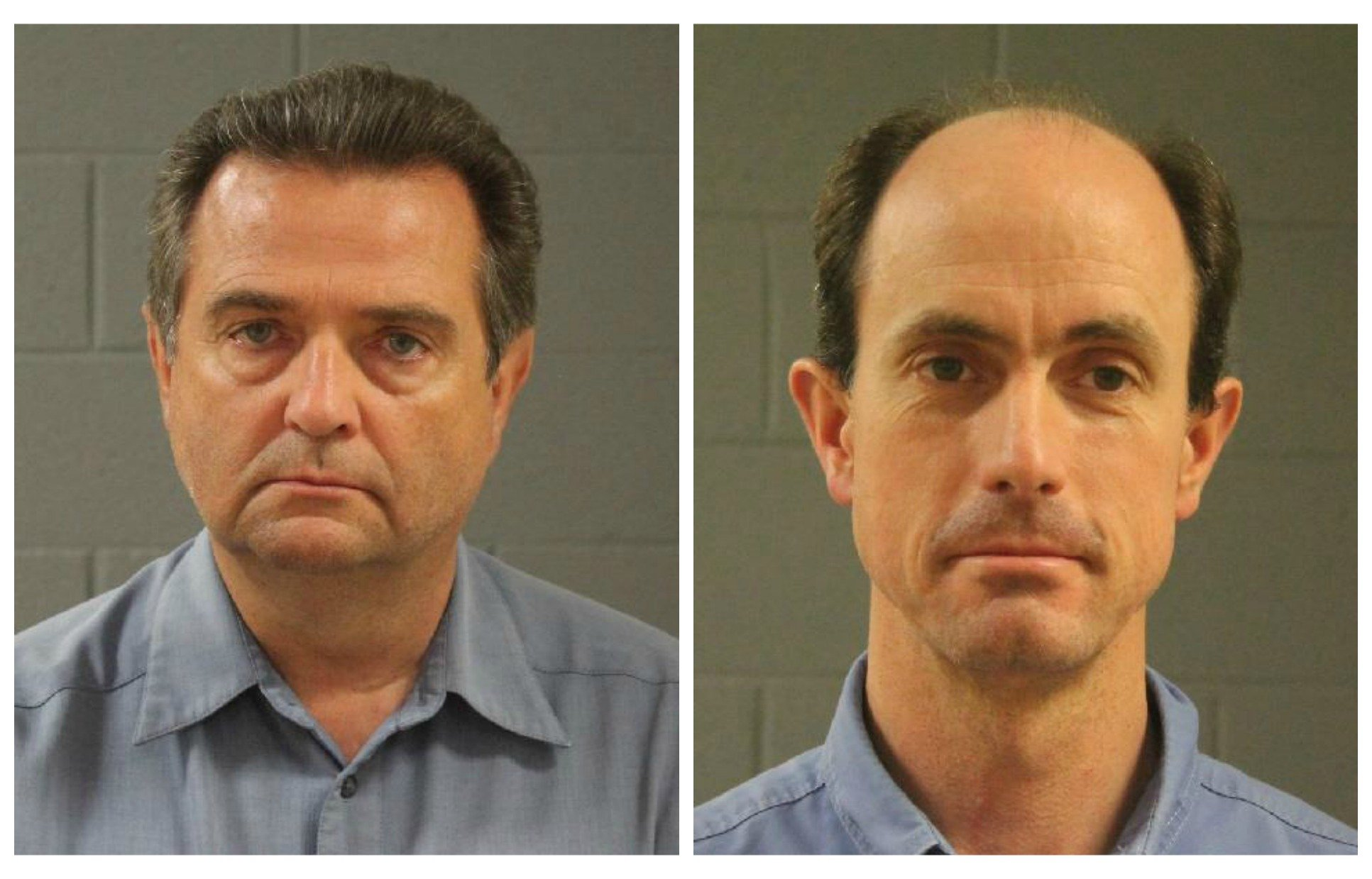 John Wayman and Seth Jeffs, leaders in the Fundamentalist Church of Jesus Christ of Latter-Day Saints have been arrested for allegedly violating the terms of their pretrial release from jail in a multimillion dollar food stamp fraud and money laundering case, Washington County, Utah, August 2016 | Photos courtesy of the Washington County Sheriff's Office, St. George News