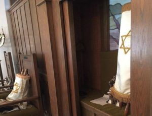 Torah at Synagogue in East Liverpool, Ohio, date not specified,   Photo courtesy of Debi Berger-Manich, St. George News