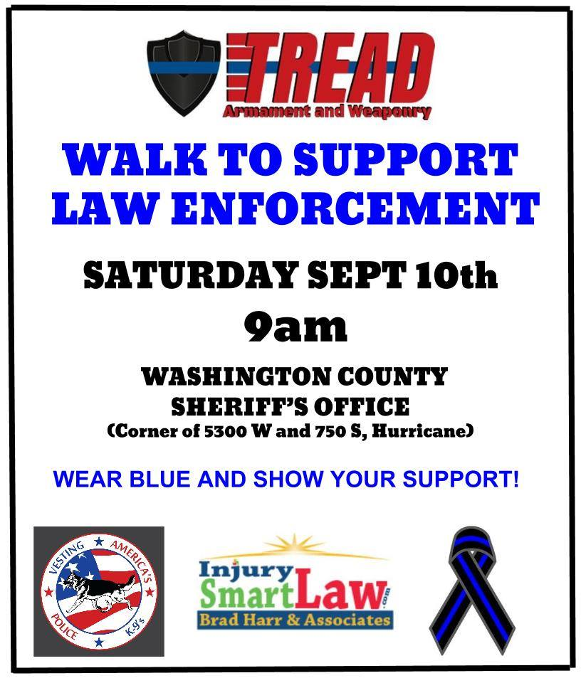 walk to support local law enforcement