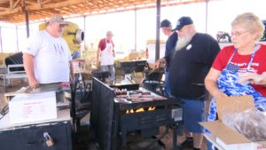 Veterans of the Utah National Guard 2nd Battalion 222nd Field Artillery gather for a reunion at the Staheli Family Farm. Washington, Utah, September 10, 2016 | Photo by Sheldon Demke, St. George News.