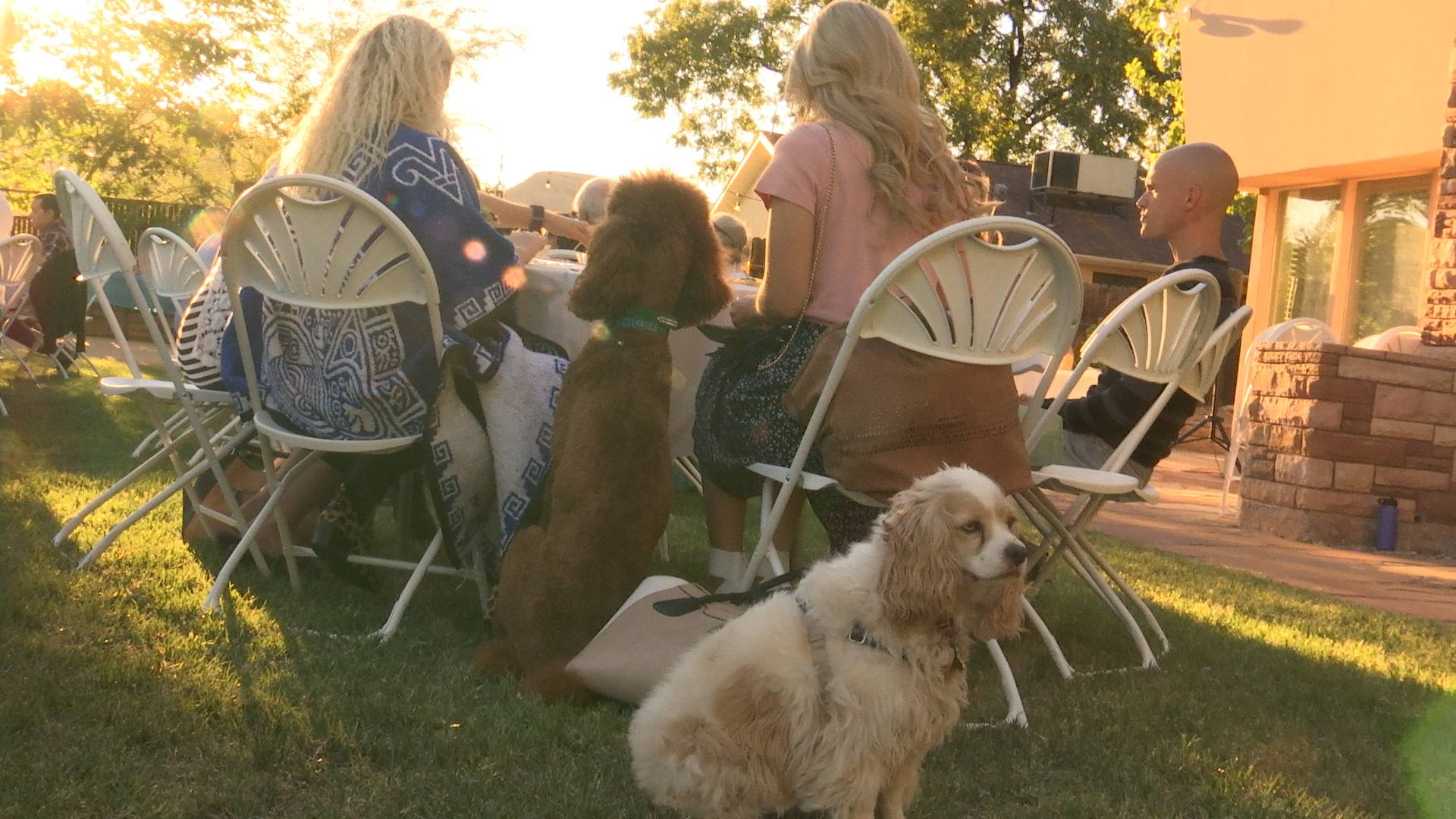 A fundraiser for a proposed Washington County animal shelter is held at the Difiore Center, 307 N. Main Street, St. George, Utah, Sept. 24, 2016 | Photo by Austin Peck, St. George News