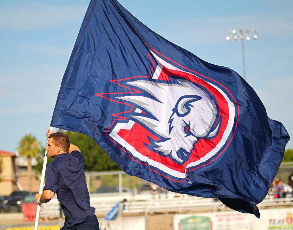 Dixie State University vs. South Dakota State School of Mines & Technology, Football, Grantsville, Utah, Sept. 10, 2016, | Photo by Robert Hoppie, ASPpix.com, St. George News