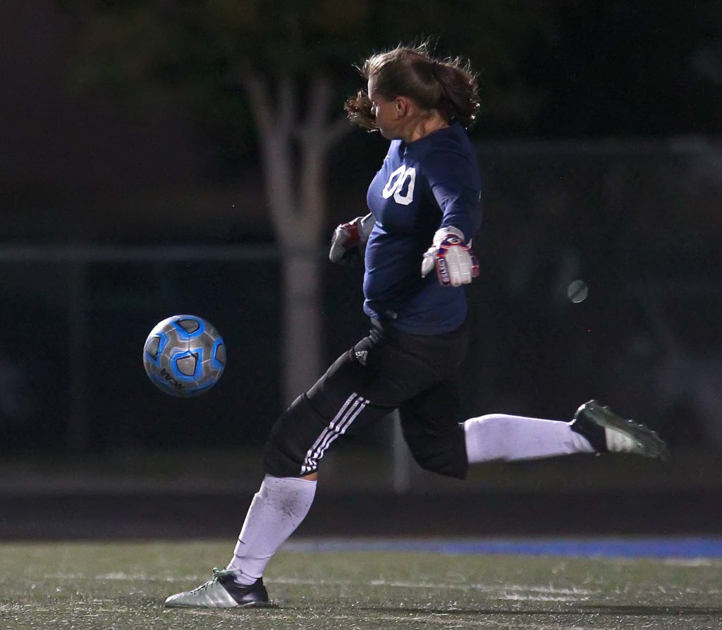 Snow Canyon's Megan Rodgers (00), file photo from Snow Canyon vs. Cedar, Soccer, St. George, Utah, Sept. 13, 2016,   Photo by Robert Hoppie, ASPpix.com, St. George News