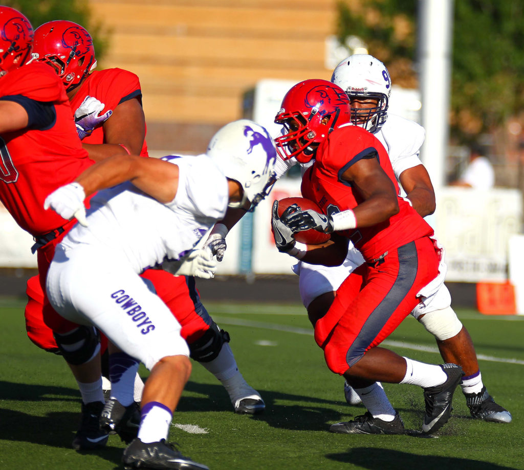 Olson Dixie State Defense Step Up In Season Opening Win St George