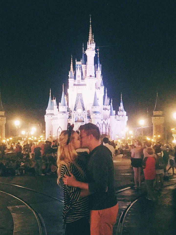 Aubree Christensen and her fiancé Jonathan Harper, Walt Disney World, Orlando, Florida, March 2016 | Photo courtesy of Aubree Christensen, St. George News
