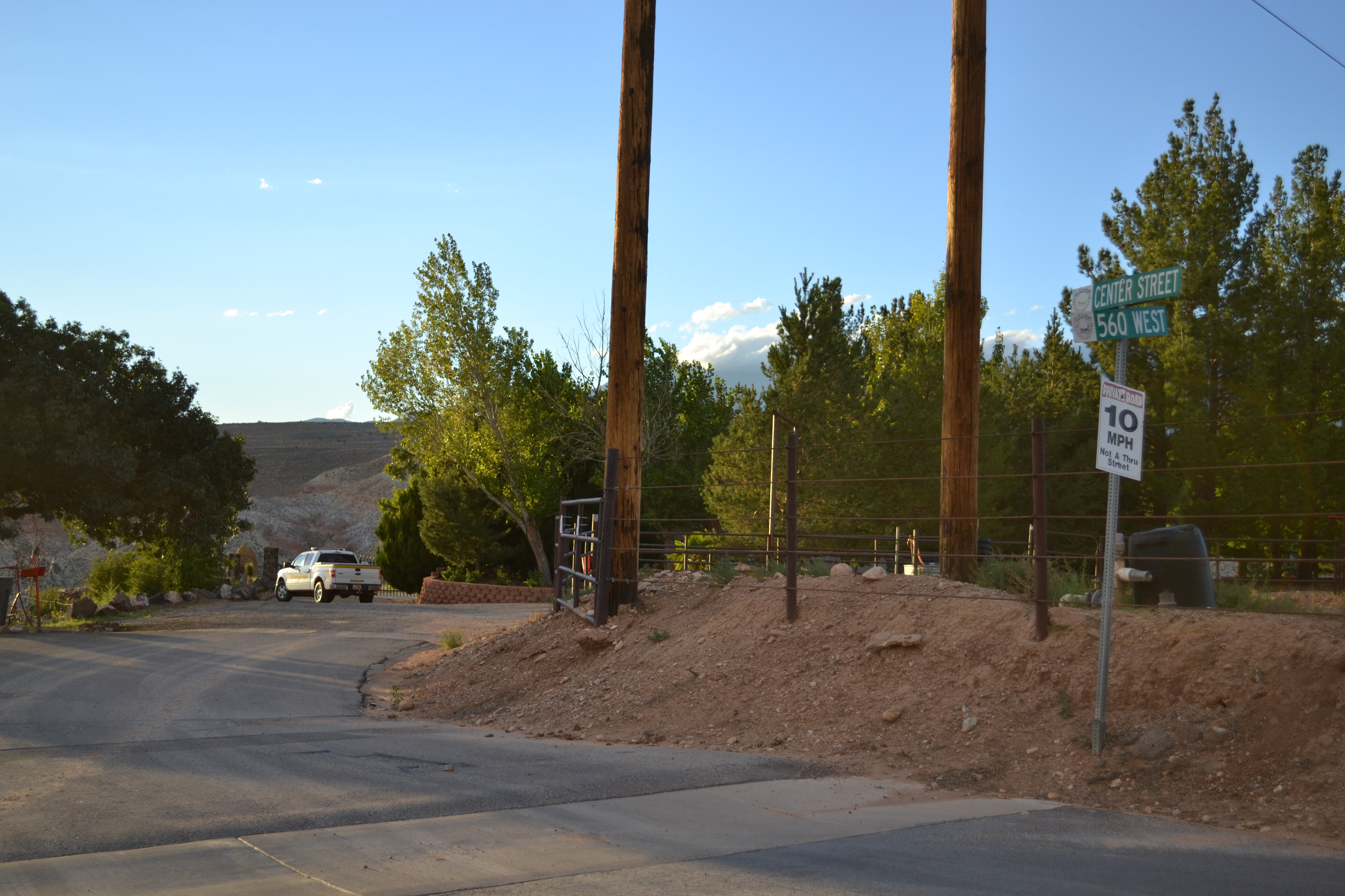 The Confluence Park area where police received a call from an injured woman, La Verkin, Utah, Sept. 29, 1016 | Photo by Joseph Witham, St. George News