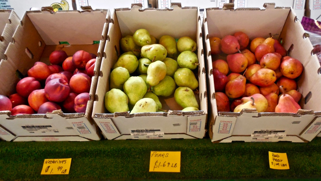Pears at Frei's Fruit Market, Santa Clara, Utah, Sept. 1, 2016 | Photo by Julie Applegate, St. George News