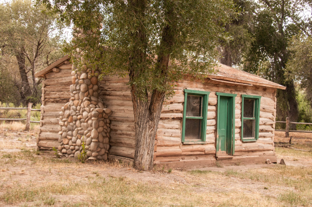 Homestead of John Smiley Lott, Fremont Indian State Park and Museum, August 2016 | Photo by Kathy Lillywhite, St. George News