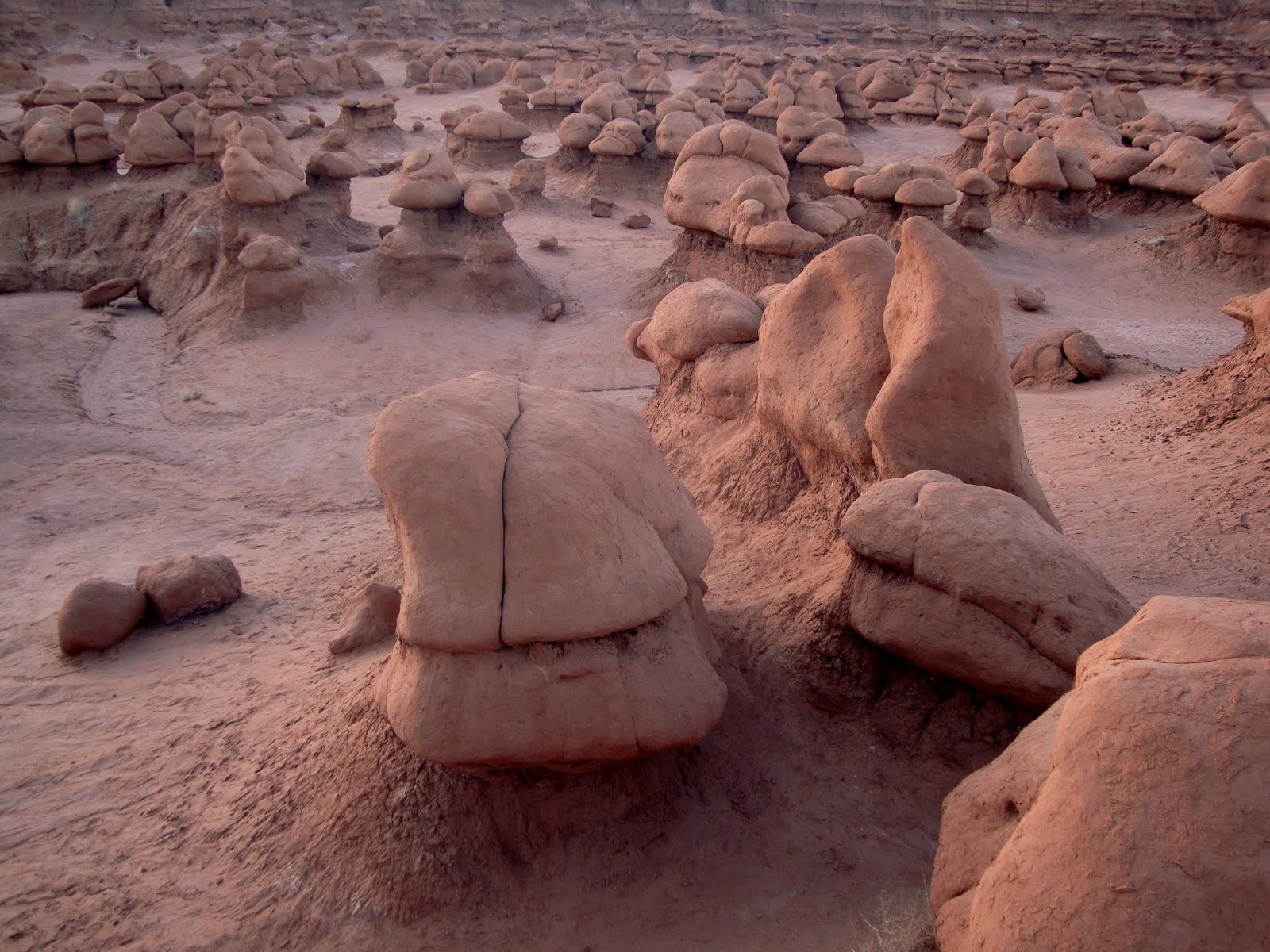 The Valley of Goblins, Goblin Valley State Park, Utah, date unspecified| photo courtesy of Brent Moore, St. George News