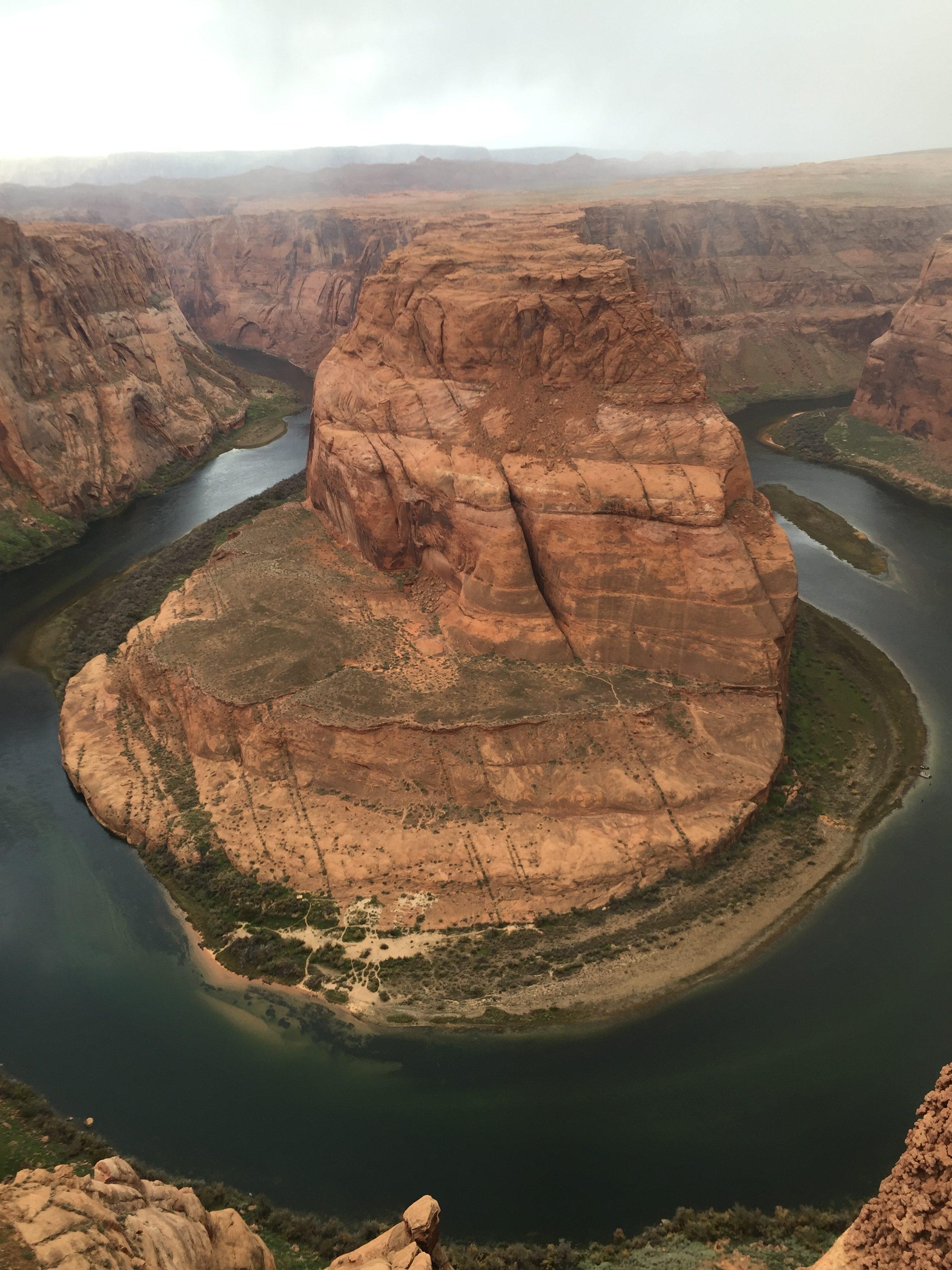 Horseshoe Bend south of Page, Arizona, Nov. 27, 2015  photo courtesy of Carolyn Barton, St. George News