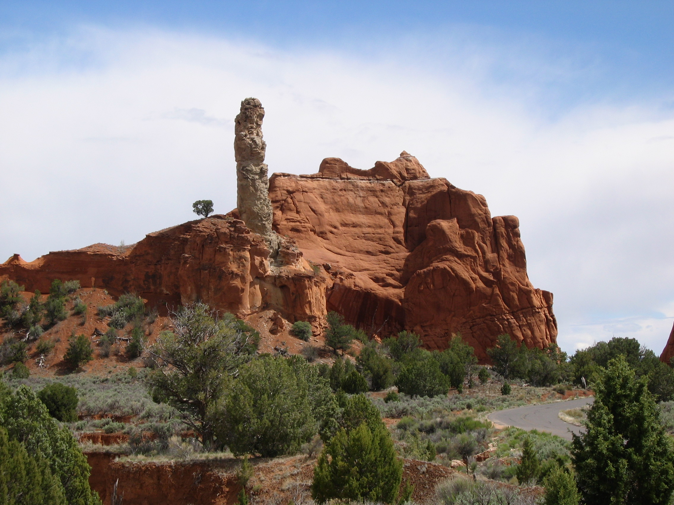 """The spire known as """"The Patriarch"""" standing out among other rock outcroppings at Kodachrome Basin State Park, Utah, May 3, 2005  photo courtesy of Kodachrome Basin State Park, St. George News"""