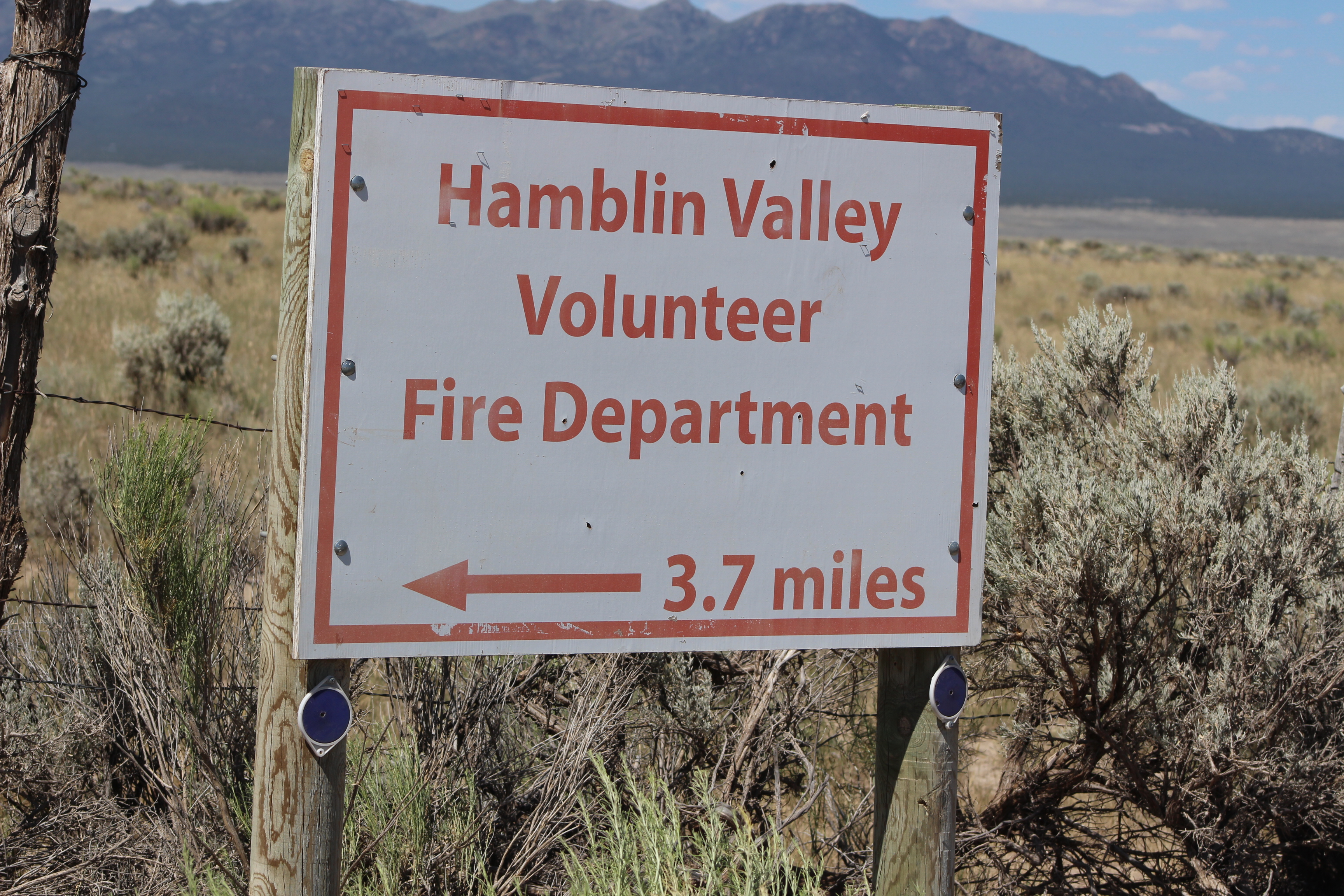 The Hamblin Valley community is one of the remote areas Iron County Sheriff's Deputy Jobe Peterson patrols. It has its own fire department but without 911 and internet access to contact it when a fire occurs, it's often too late. Iron County, Utah, July 15, 2016 | Photo by Tracie Sullivan, St. George News / Cedar City News