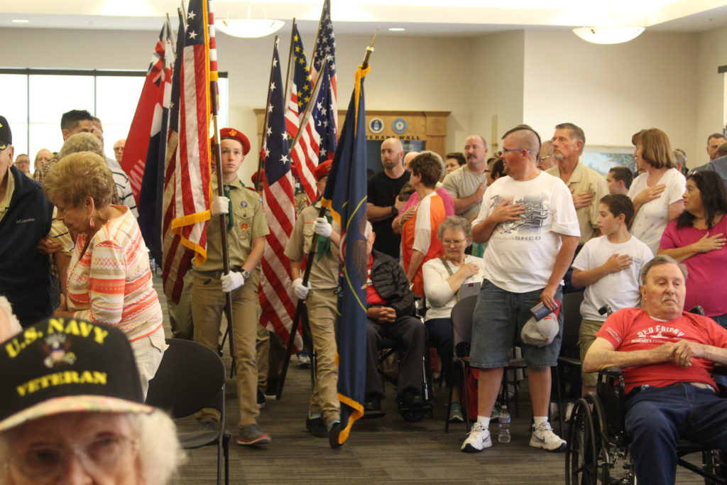 Boy Scouts at Patriot Day celebration - St. George News.com
