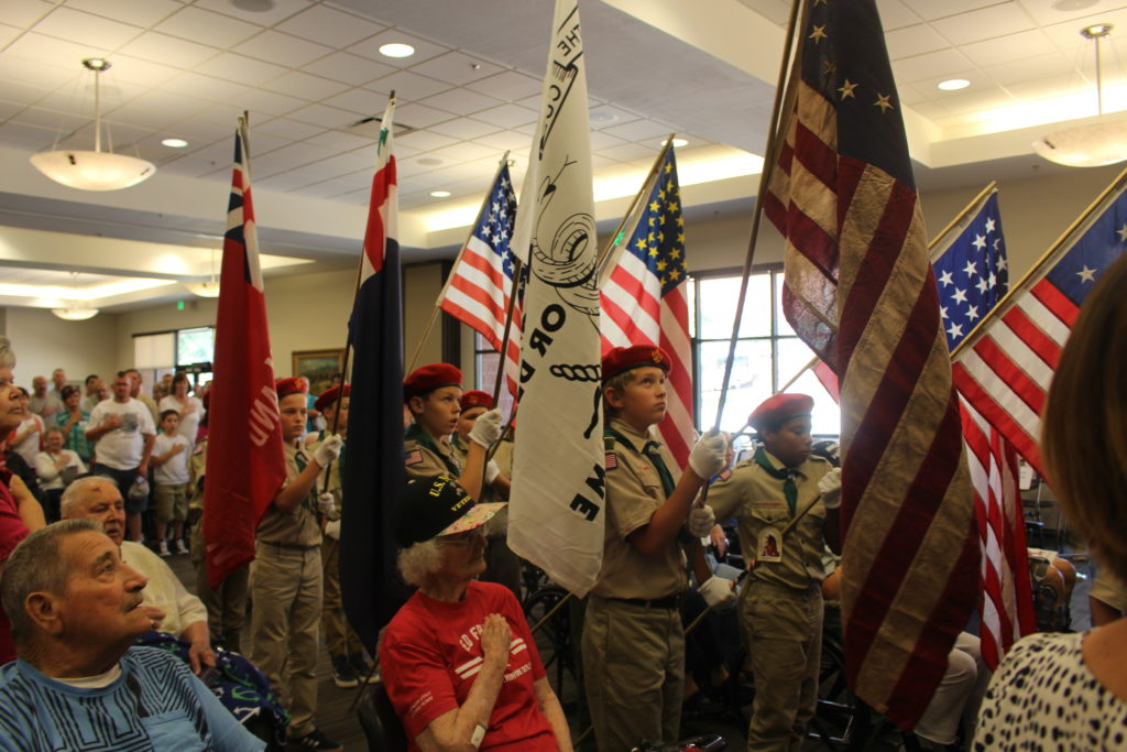 Boy Scouts at Patriot Day celebration - St. George News.com