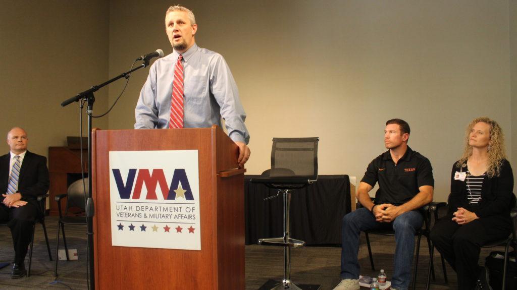 Jerry Olson at Patriot Day - Southern Utah Veterans Home - StGeorgeNews.com