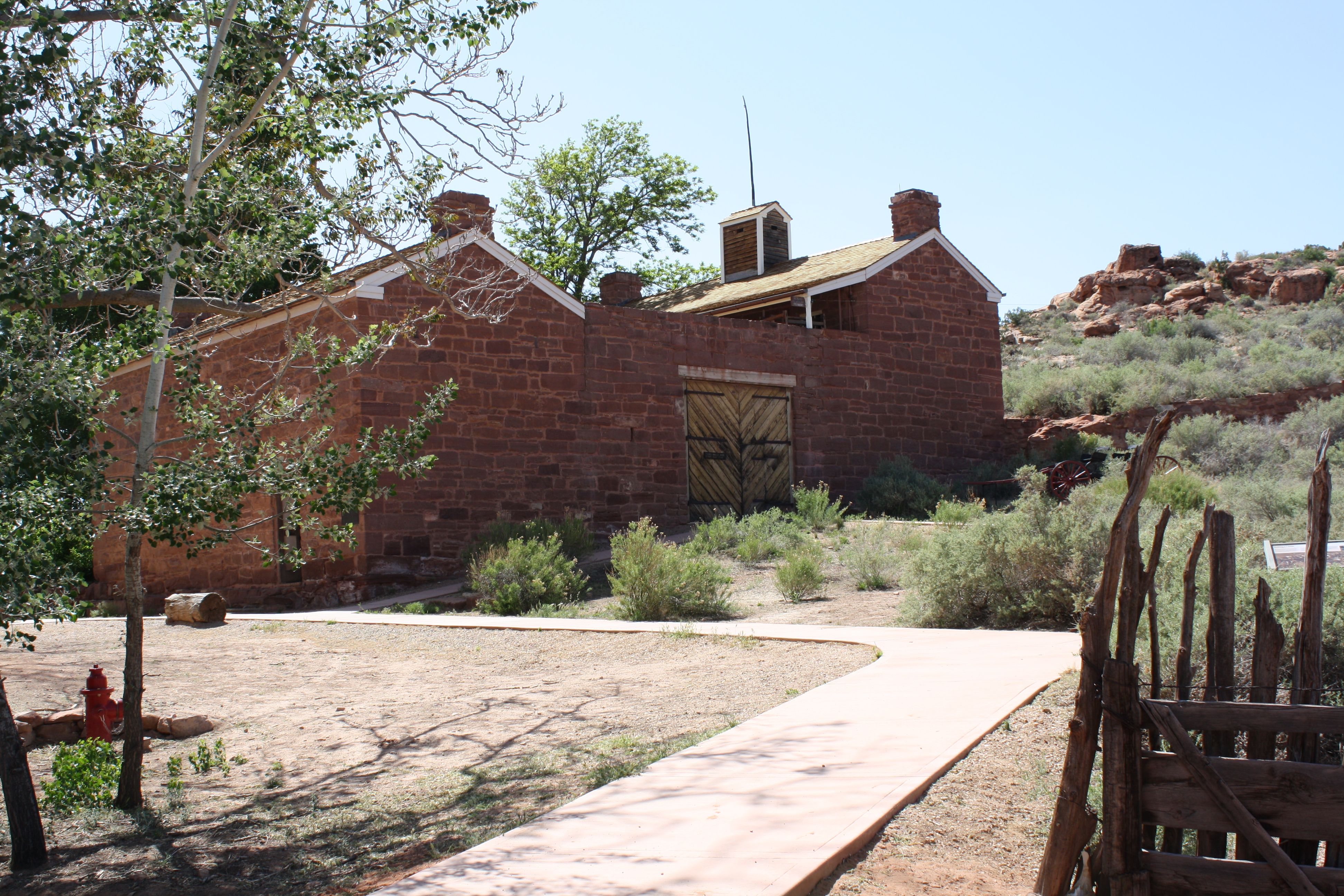 Winsor Castle in Pipe Spring National Monument, Ariz., May 5, 2012| photo by Reuben Wadsworth, St. George News