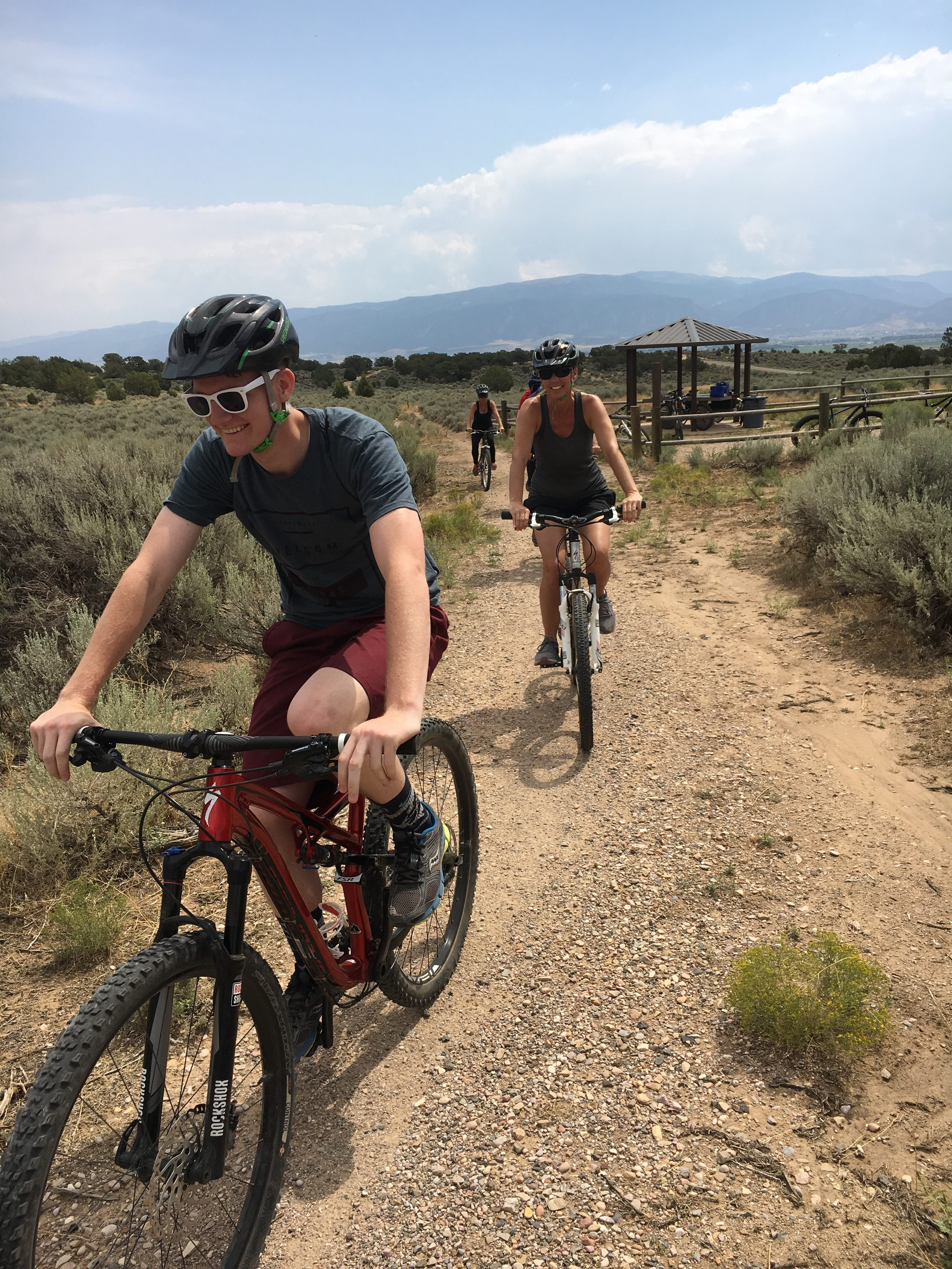 SUU students participating in Mountain Biking on SUU Parks Day, Location not given, Aug. 25, 2016 | Photo courtesy of Southern Utah University, St. George News, Cedar City News