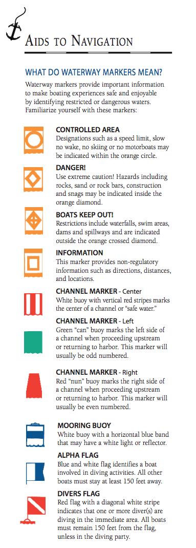 Navigation aids - Utah boating - StGeorgeNews.com