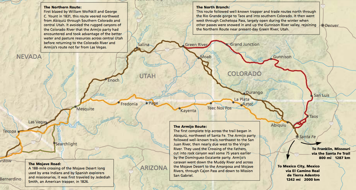 Map courtesy of National Park Service, St. George News
