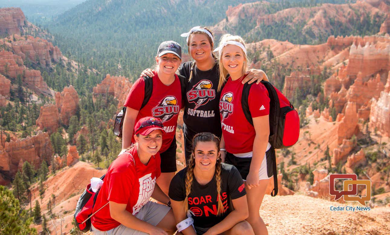 Students from Southern University enjoying National Park Centennial at Bryce Canyon, Aug. 25, 2016 | Photo courtesy of Southern Utah University, St. George News, Cedar City News
