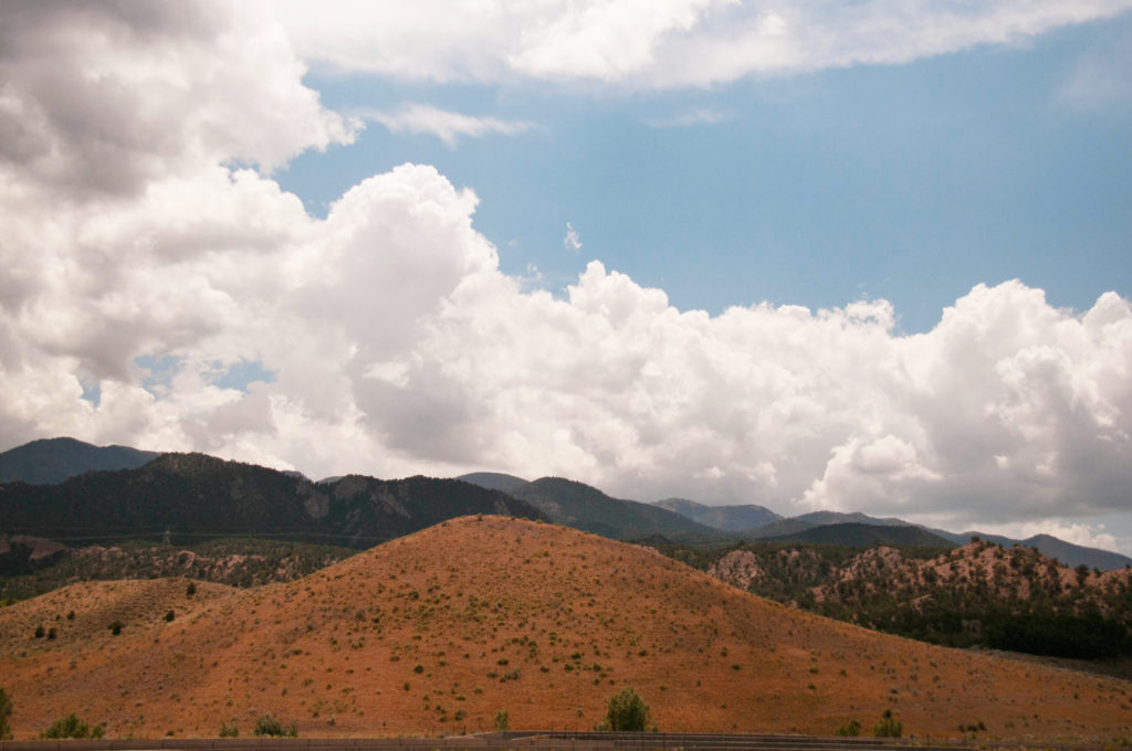 Five Finger Ridge viewed from Fremont Indian State Park and Museum, August 2016   Photo by Jim Lillywhite, St. George News