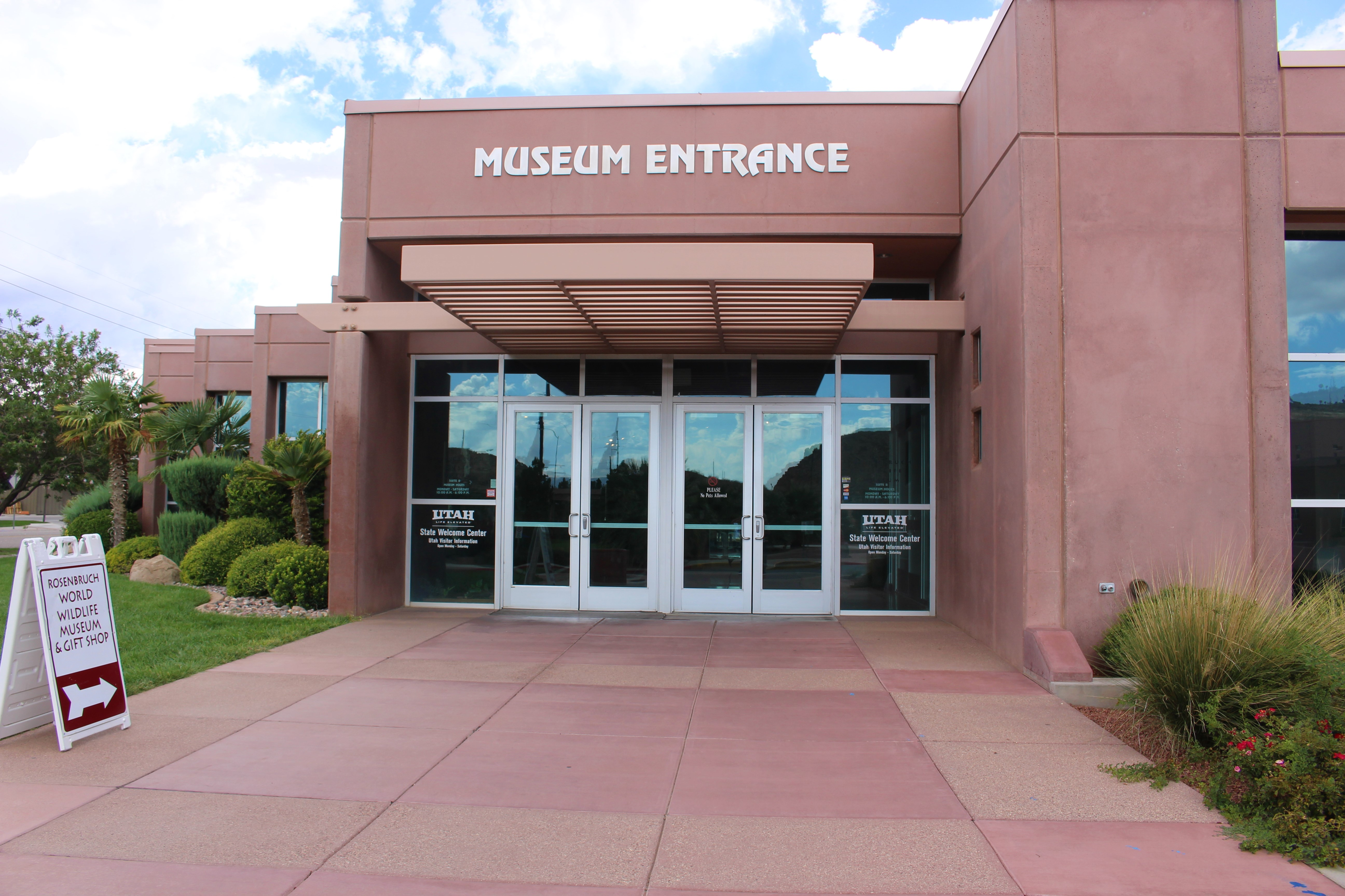 The Dixie Convention Center St. George where the Utah Visitor Information Center was temporarily placed in 2008, St. George, Utah, Sept. 22, 2016 | Photo by Cody Blowers, St. George News