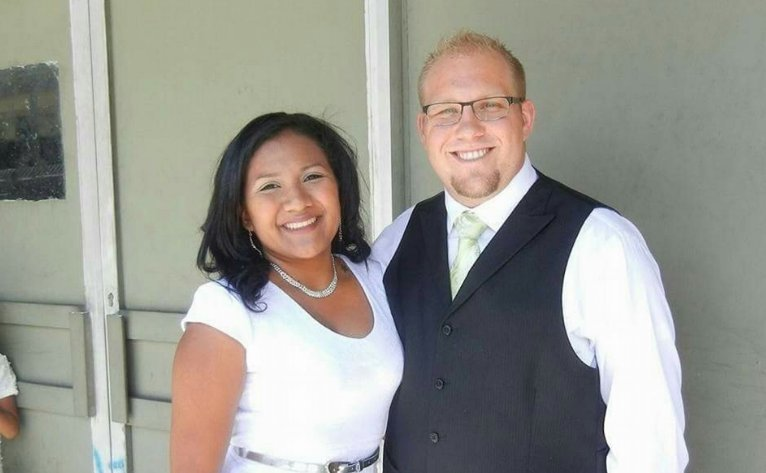 Joshua Holt of Riverton, Utah with his new wife Tamara. The Holts have been charged with weapons violations that have been linked with the death of a government official in Venezuela. Undated | Photo courtesy of Justice for Josh Facebook page, St. George News