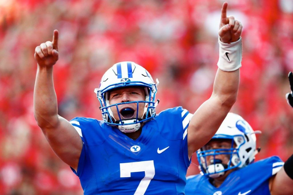 BYU needs Taysom Hill's game to improve this week. | Photo by BYU Photo