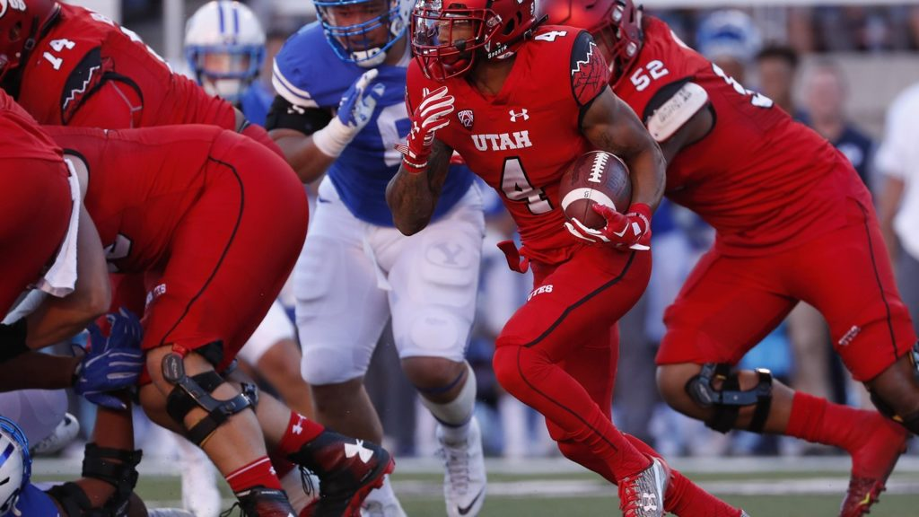Troy McCormick (4) may have won the starting job at running back. | Photo courtesy Utah Athletics